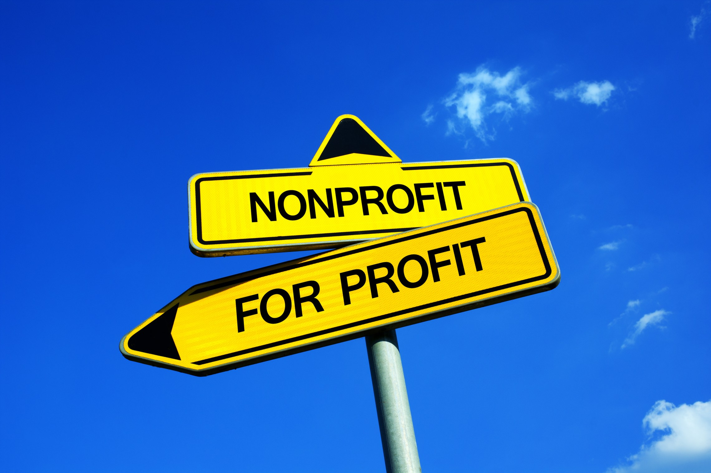Nonprofit For profit