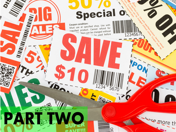 The Volunteer Job of the Century! Finding, Tracking, and Redeeming Coupons