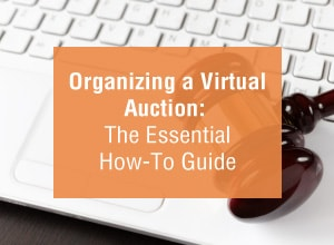 Organizing a Virtual Auction