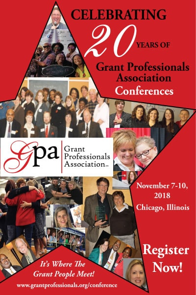 Celebrating 20 Years of Grant Professionals Association Conferences