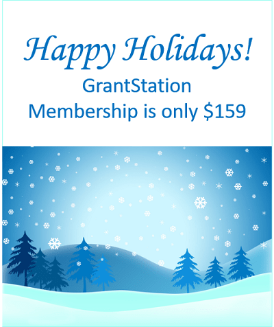 Get a GrantStation Membership for only $159!