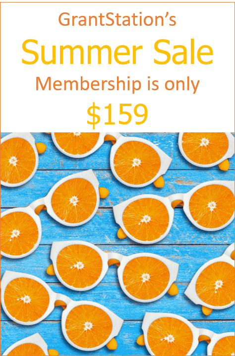 GrantStation's Summer Sale Membership is Only $159