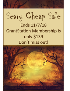 Get a GrantStation Membership for only $139!