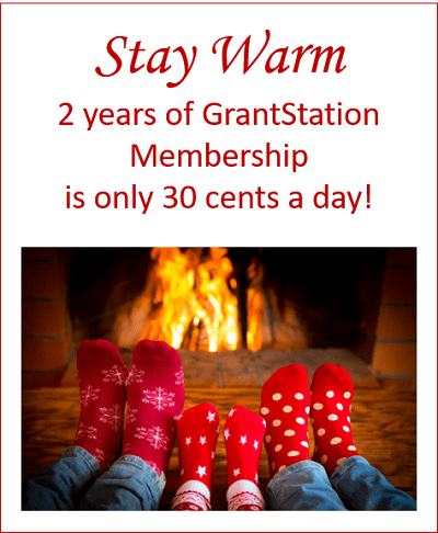 2 Year of GrantStation Membership is only 30 cents a day