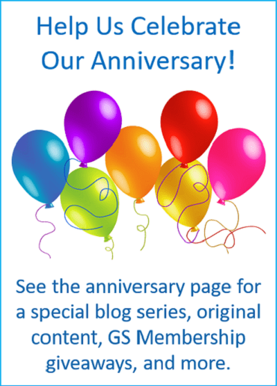 Help us celebrate our anniversary!