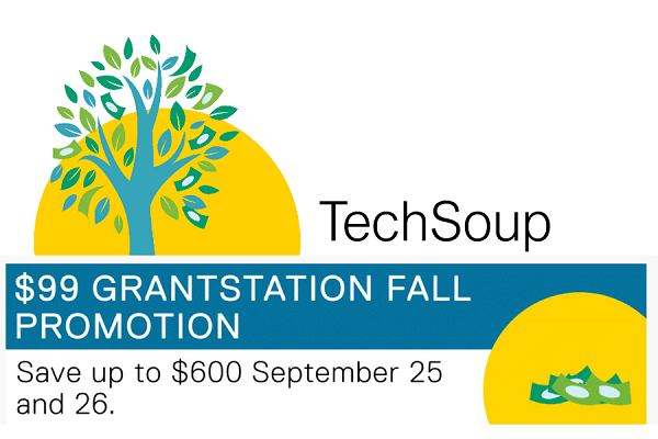 GrantStation at TechSoup - $99