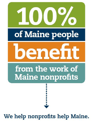 ​​100% of Maine people benefit from the work of Maine nonprofits