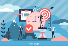 time and tasks icons